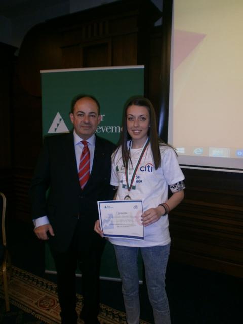 ПГИ Ученичка от ПГИ се класира на второ място на националното ученическо състезание за финансова грамотност ``Финансов иновационен лагер``