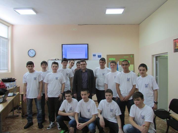 ПГИ Два наши проекта сред 20-те финалисти от България на Националната олимпиада по ИT