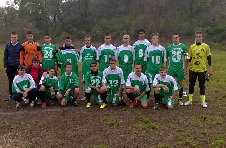 ПГИ Отборът по футбол на ПГИ е общински първенец