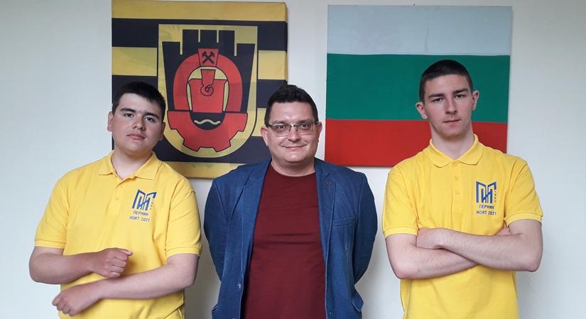 Мартин Мирков и Олег Огнянов